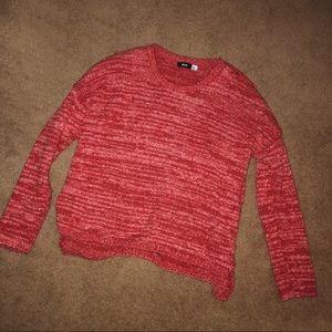 Urban Outfitters BDG Red Knit Sweater